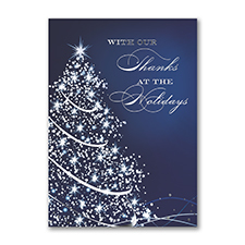 Starry Blue Holiday